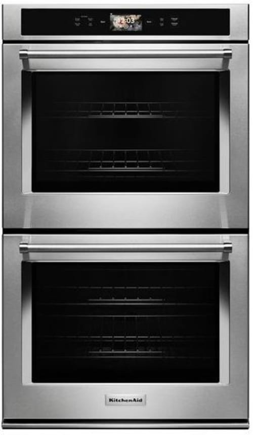 Kode900hss By Kitchenaid Electric Wall Ovens Goedekers Com