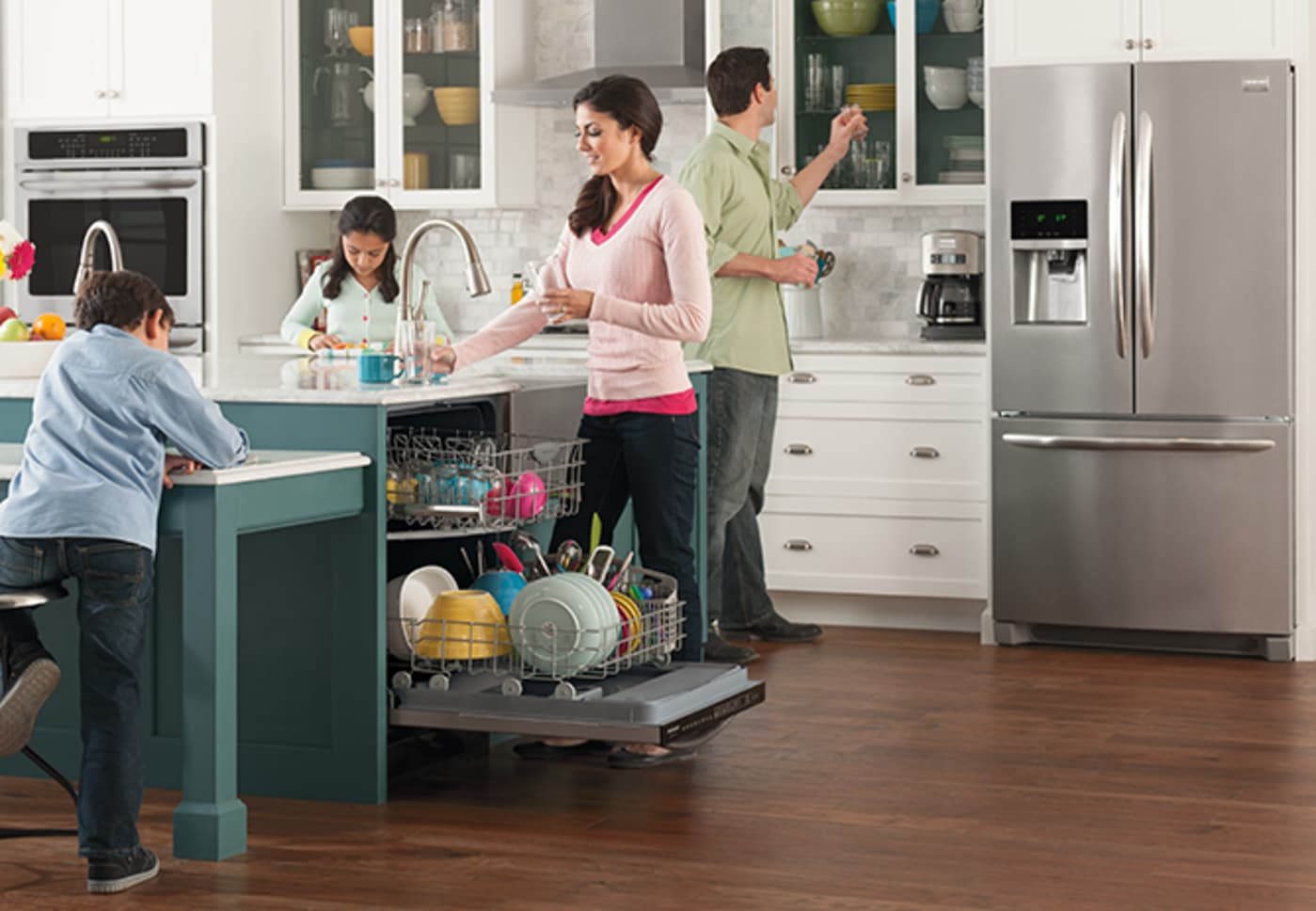 fgid2466qf by frigidaire fully integrated dishwashers. Black Bedroom Furniture Sets. Home Design Ideas
