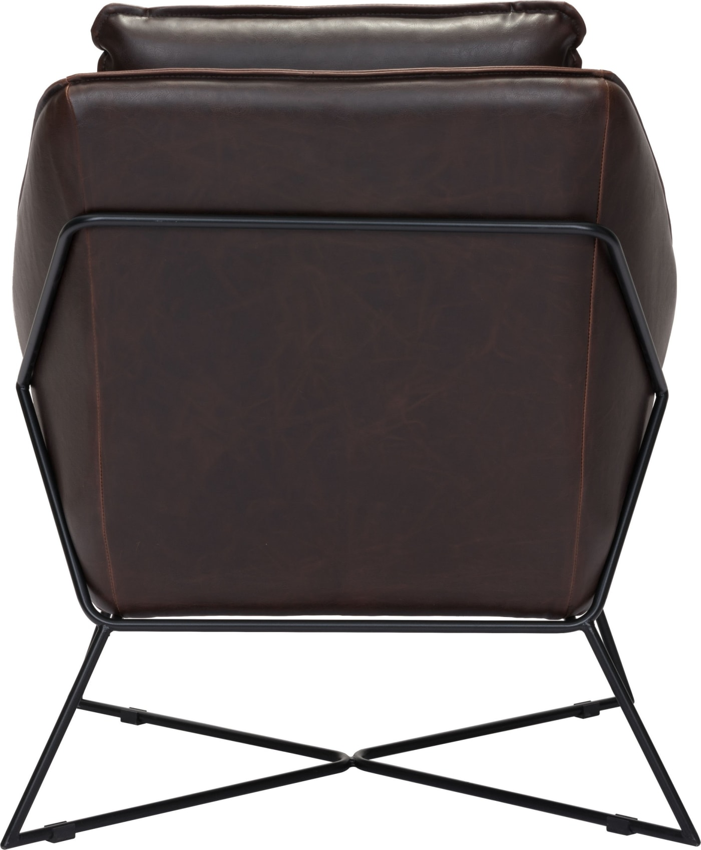 Zuo Modern Lincoln Brown Lounge Chair Amp Reviews