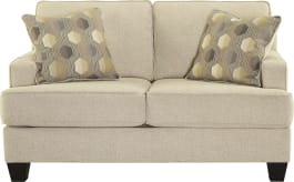 Signature Design by Ashley 6140235 Brielyn Linen Loveseat