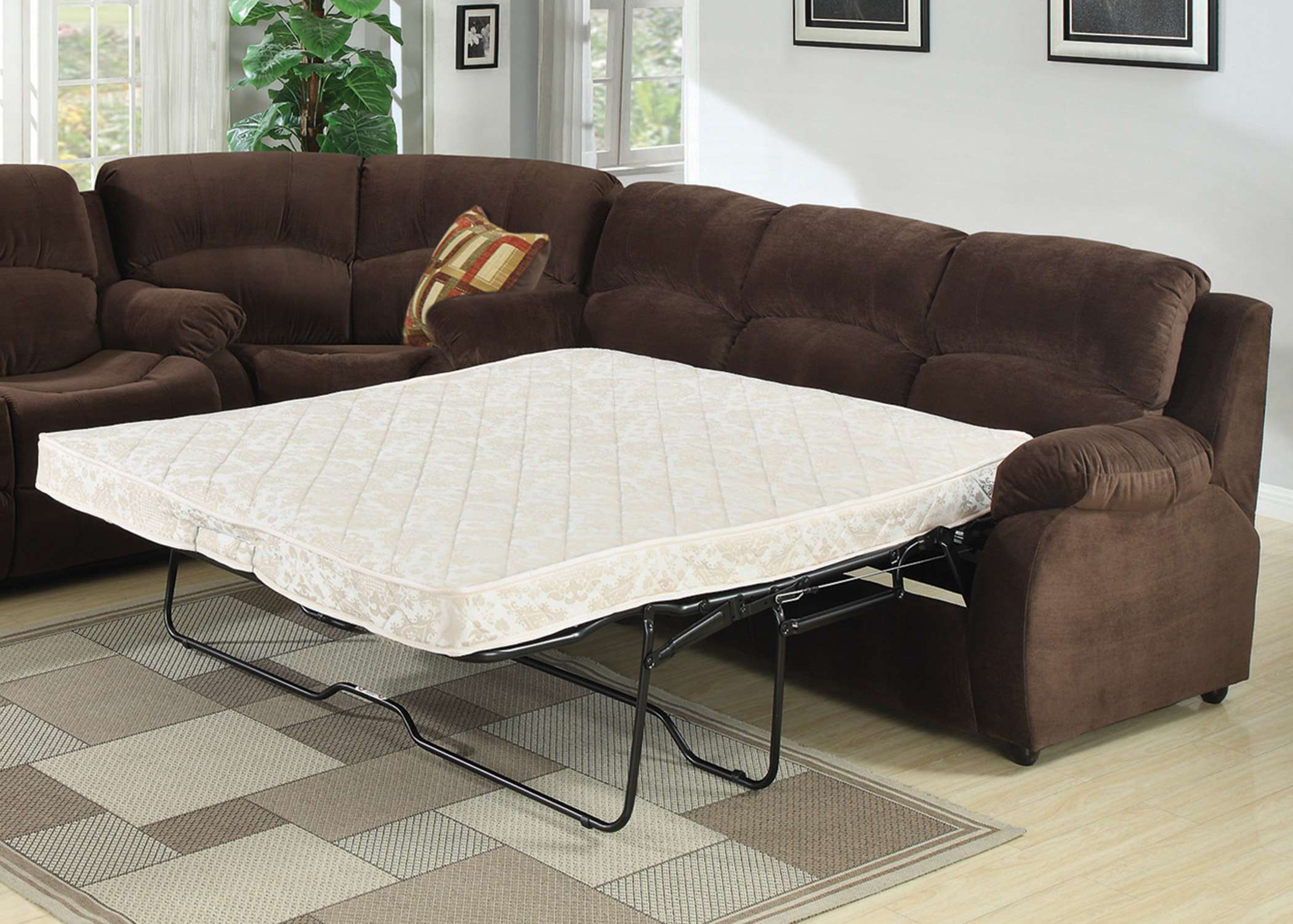 Genial Tracey Transitional Queen Sofa Bed