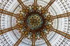 The Domed Ceiling at Galeries Lafayette
