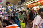 People Shopping at Sampeng Market in Bangkok
