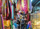 Colorful Clothing Hanging at Shop Inside Chatuchak Bangkok