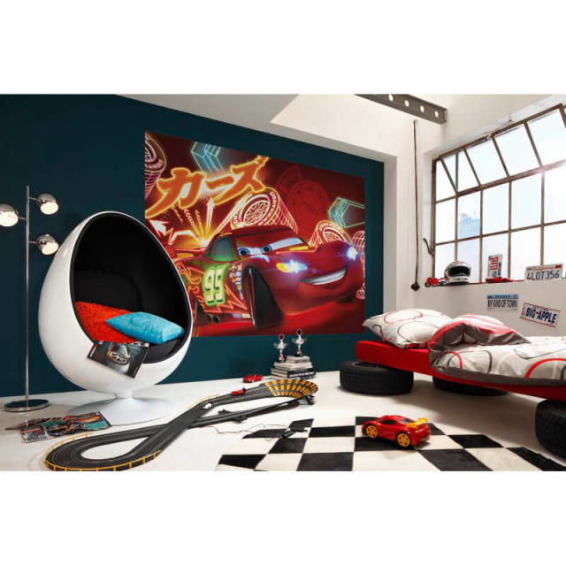 Disney Cars Wall Mural Of Boys Wallpaper Boys Wall Mural
