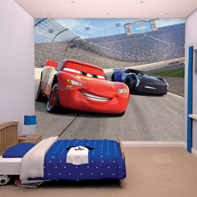 Boys wallpaper boys wall mural for Disney cars wallpaper mural