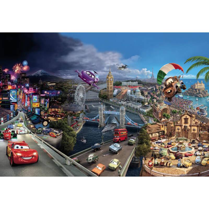 Exceptional Komar Disney Cars World Wall Mural   8 400 Part 17