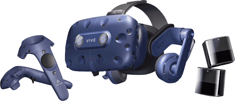 Blue HTC VIVE Pro Full Kit.3