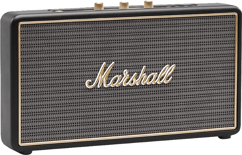 Black Marshall Stockwell Bluetooth-Lautsprecher.1