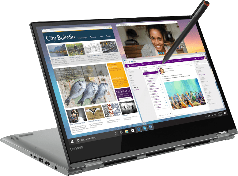 Black Lenovo Yoga 530.1