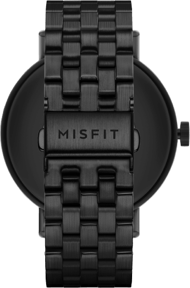 Jet Black Misfit Vapor 2, 46mm.3