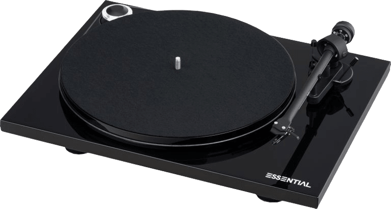 Black Pro-Ject Essential III Digital Turntable.1