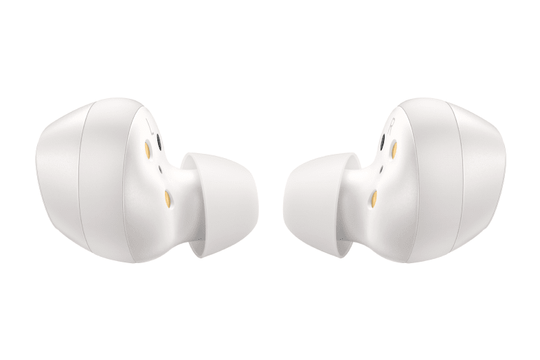 White Samsung Galaxy Buds.4