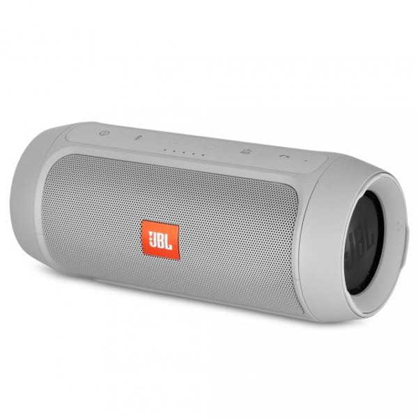 Gray JBL Charge 2+.2