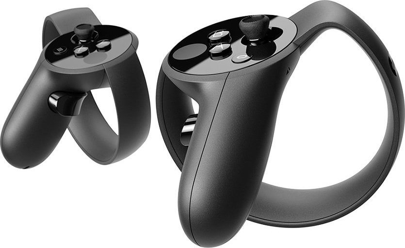 White Oculus Rift Touch Controller.3