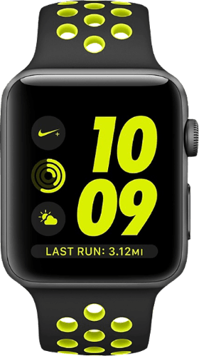 White Apple Watch Nike+ Series 2, 38mm.2