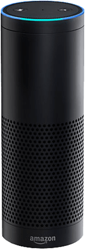 White Amazon Alexa Echo.1