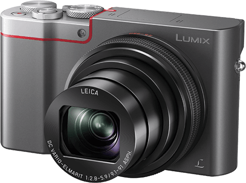 Silber Panasonic Lumix DMC-TZ101.1