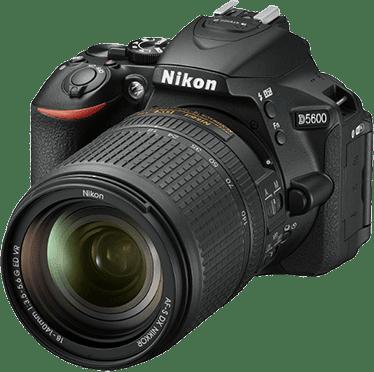 Black Nikon Camera with Lens D5600 AF-S DX 18-140mm f/3.5-5.6.1