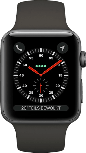 Spacegray Apple Watch Series 3 GPS, 38mm.2