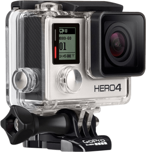 White GoPro HERO4 Silver.1