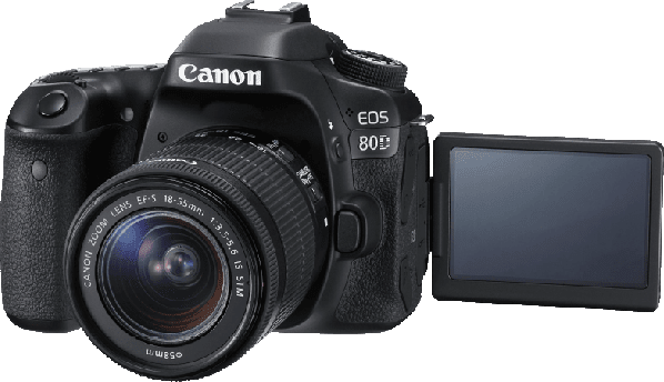 Canon EOS 80D Kit +EF-S 18-55mm lens.1