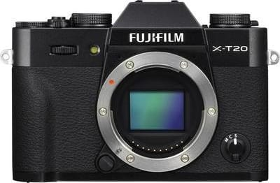 Black Fujifilm Camera with lens X-T20 XF 18-55mm 24MP BLACK.6