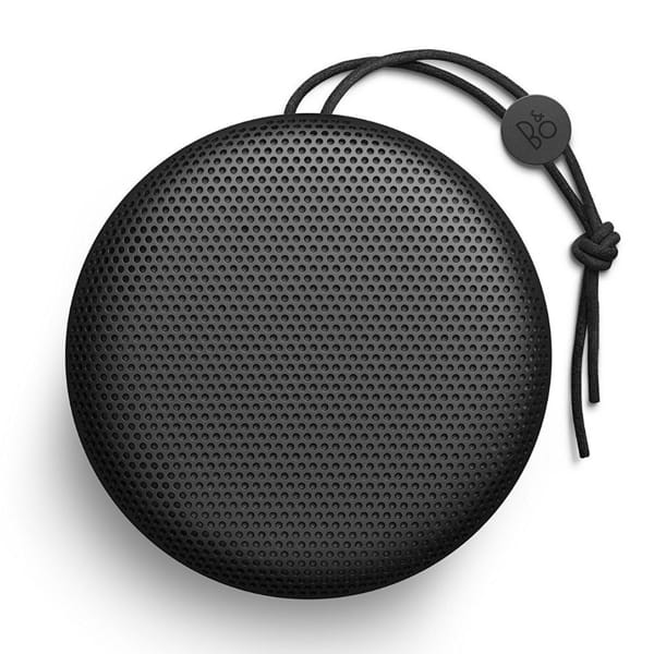 Black B & O PLAY Beoplay A1 Bluetooth Speaker.1
