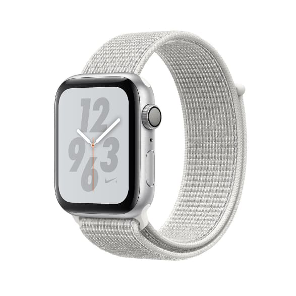Silver Woven Apple Watch Nike+ Series 4 GPS + Cellular, 44mm.2