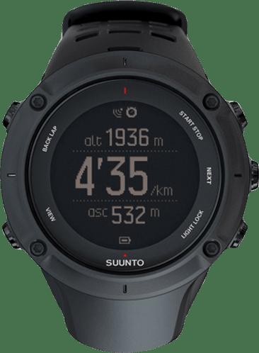 Black Suunto Ambit 3 Sport  HR.1