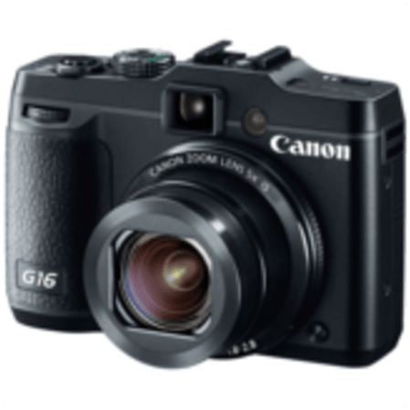 Black Canon PowerShot G16.1