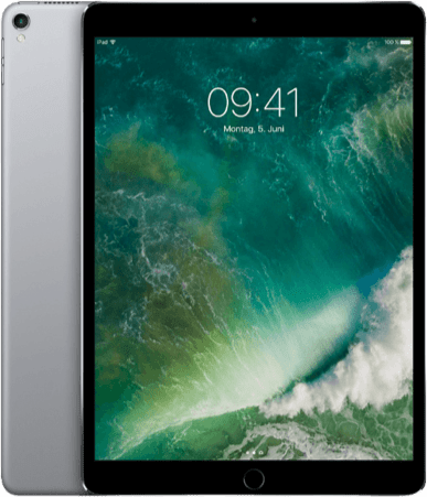 "Space Grau Apple 10.5"" iPad Pro Wi-Fi (2017).1"