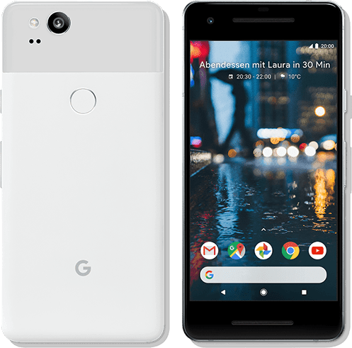 Clearly White Google Pixel 2 128GB.1