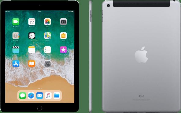 Space Grey Apple iPad Wi-Fi + Cellular (2018).1