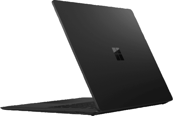 Black Microsoft Surface Laptop 2.3