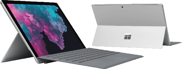 Platin Grey Microsoft Surface Pro 6.2