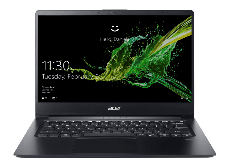 Black Acer Swift 1 SF114-32-P6W9.1