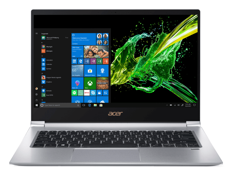 Silver Acer SF314-55-71NF.1