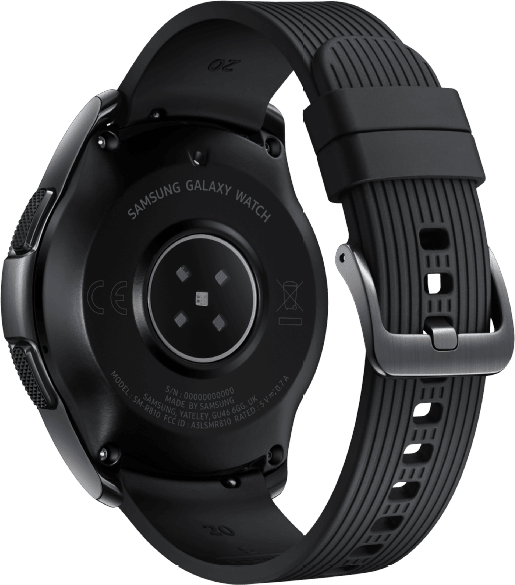 Black Samsung Galaxy Watch LTE, 42mm.4