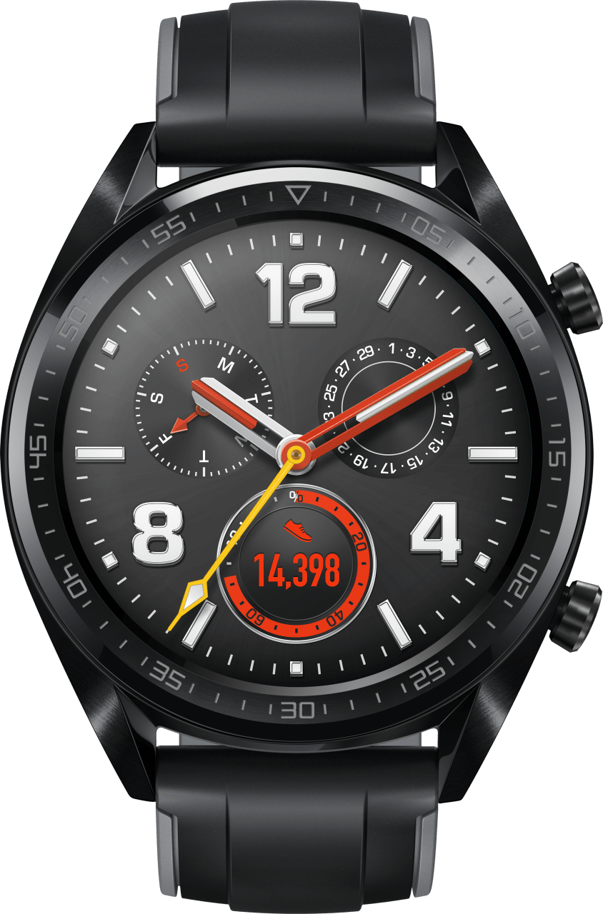 Graphite Black Huawei Watch GT.1
