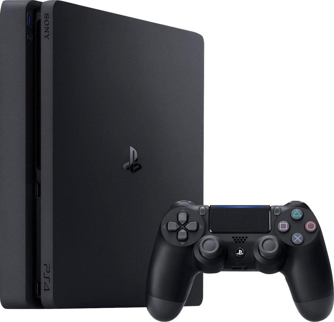 Schwarz Sony PlayStation 4 Slim .1