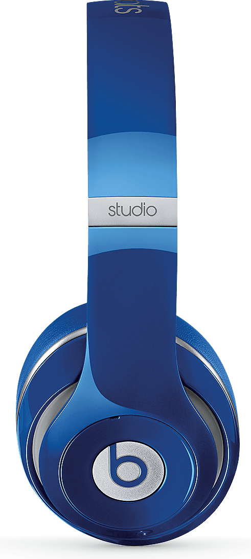 Blue Beats Studio Wireless Over-ear Headphones.3
