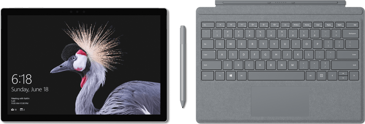 Black Microsoft Surface Pro (2017).2