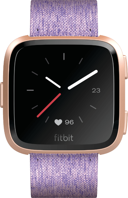 Lavender / Rose Gold Fitbit Versa Special Edition.1
