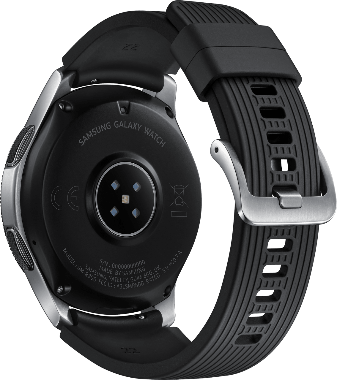 Silber Samsung Galaxy Watch LTE, 46mm.3
