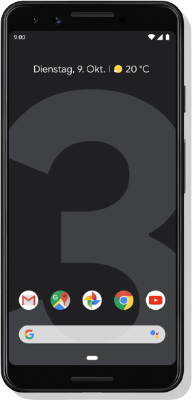 Just Black Google Pixel 3 64GB.1