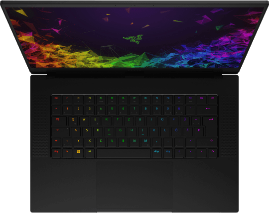 Schwarz Razer Blade 15 Advanced (2019).2