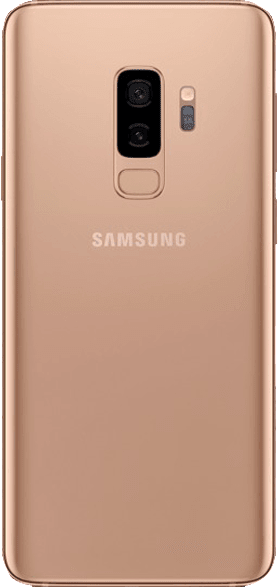 Gold Samsung Galaxy S9+ 64GB.2