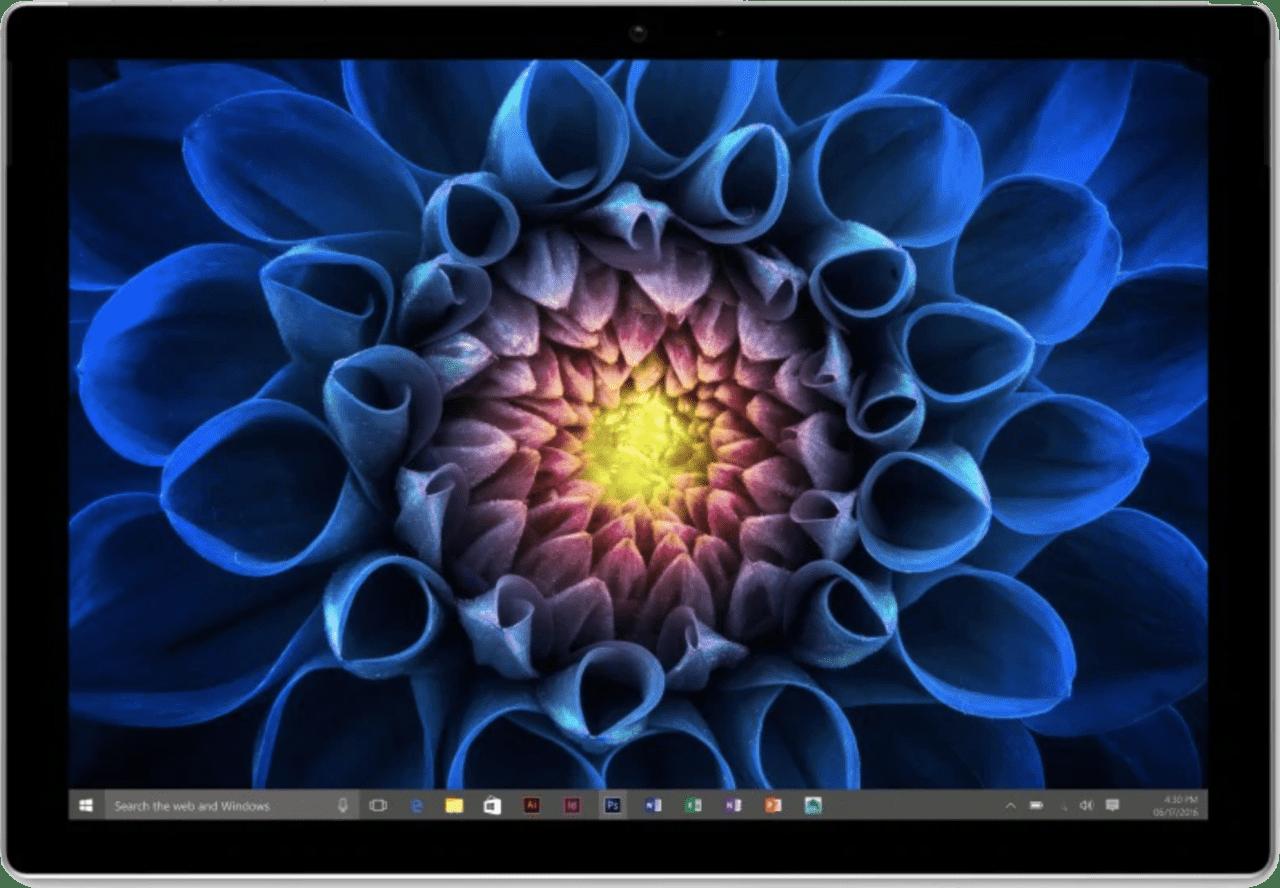 Schwarz Microsoft Surface Pro 4, Surface Pen & Type Cover.1