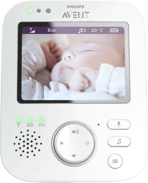 Weiß PHILIPS SCD 630/26 baby monitor.2